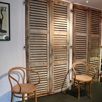 set of 4 large  French shutters