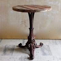 Victorian Iron side table