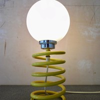 'spring' table lamp by Ingo Maurer