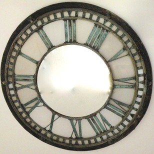 19th century Turret clock face