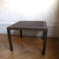 cast iron low table