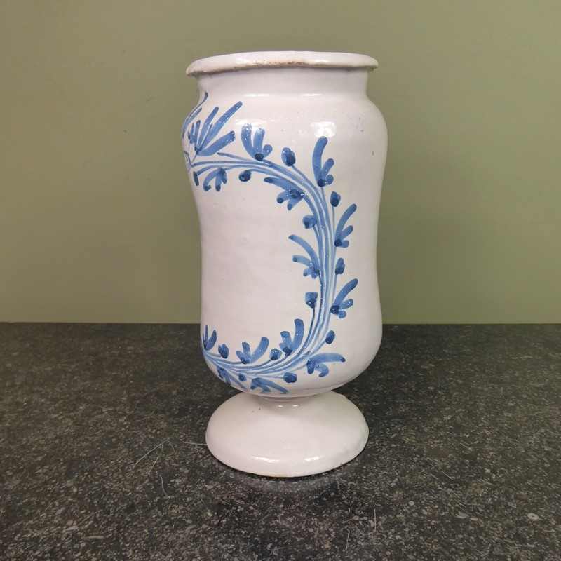 18th c delft apothecary jar-mytton-antiques-apoth1-main-637075988118567452.JPG