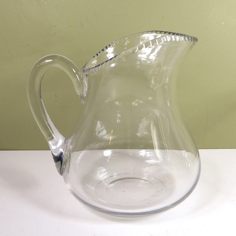 Large 19th c glass bowl & jug-mytton-antiques-bowl3-main-637018281243004907.JPG