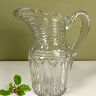 19C Glass Jug