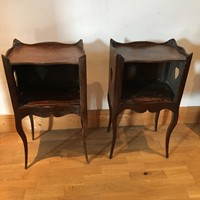 Charming pair of bedside cabinets