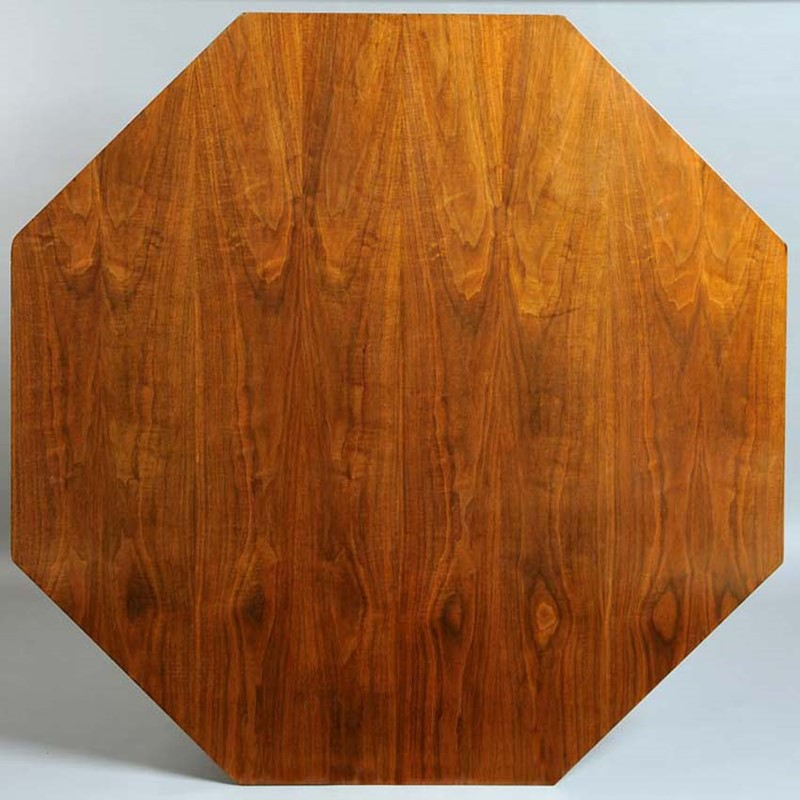 Walnut Octagonal Table, 1956-nicholas-exham-rjg2-main-637142658974501343.jpg