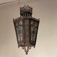 C1940s A Wonderful Spanish Iron Lantern