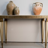 Circa 1930 An Italian Greek Key Console table