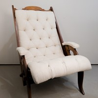 Circa 1900 A Scottish chair by J. Herbert McNair