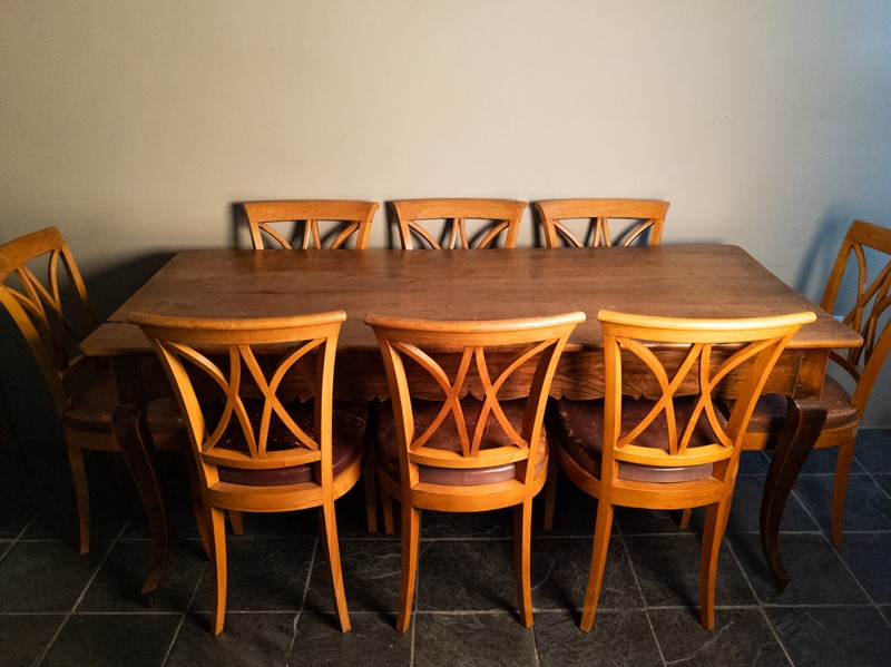Ten Fruitwood Dining Chairs in Leather C.1930-nick-jones-img-20200524-103621-main-637299757810749204.jpg