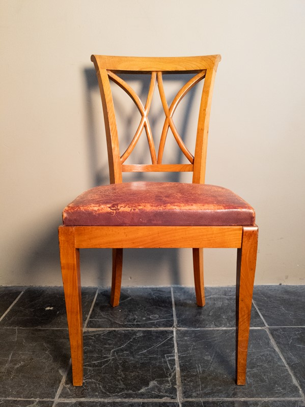 Ten Fruitwood Dining Chairs in Leather C.1930-nick-jones-img-20200524-104451-main-637299759307773637.jpg