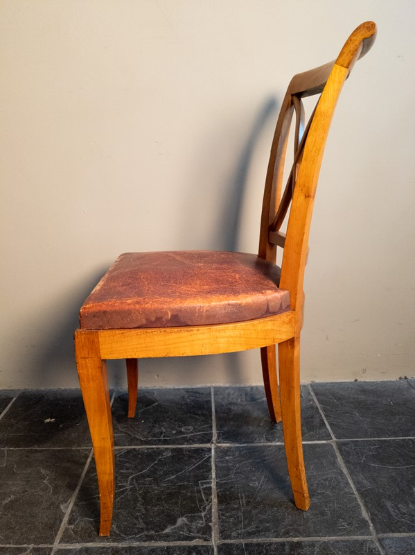 Ten Fruitwood Dining Chairs in Leather C.1930-nick-jones-img-20200524-104501-main-637299754858575942.jpg