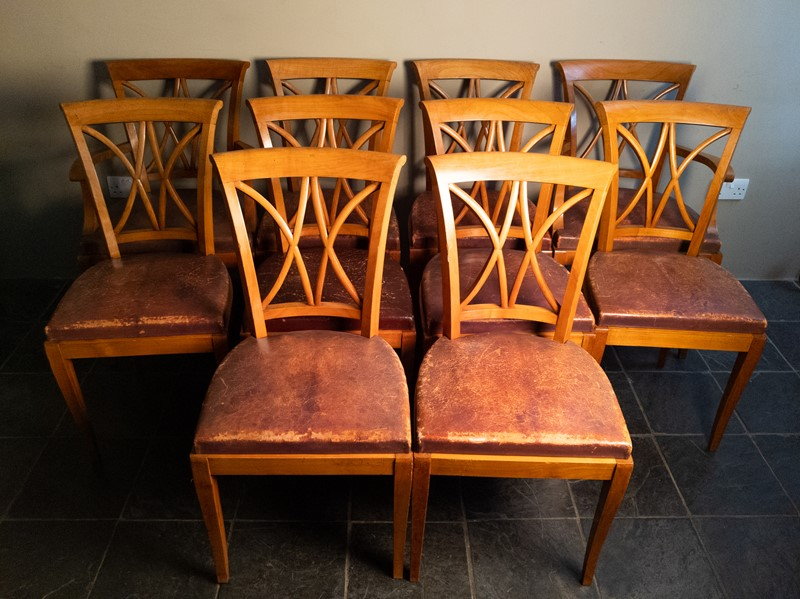 Ten Fruitwood Dining Chairs in Leather C.1930-nick-jones-img-20200524-104845-main-637299755416228891.jpg