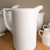 C1930 A Large Creamware/ Ironstone Jug / Pitcher