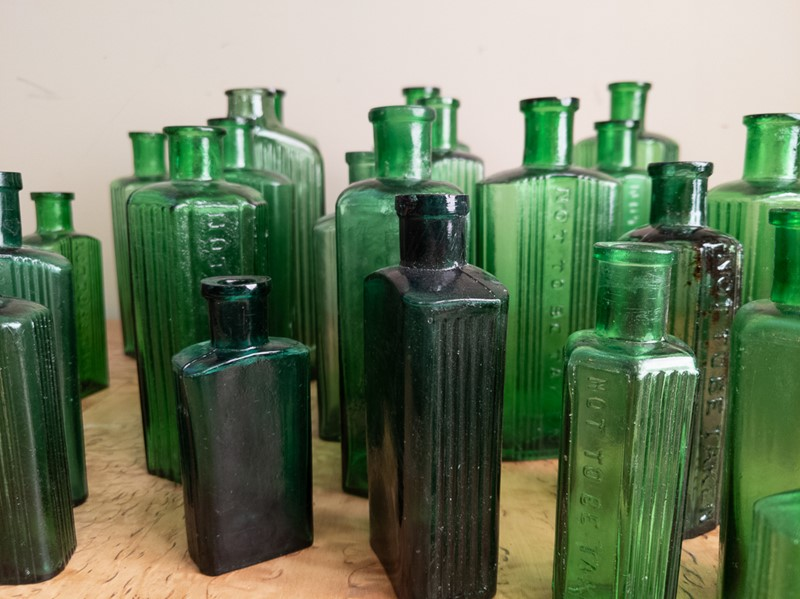 A collection of 30 Green Glass Poison Bottles -nick-jones-img-20200705-104424-main-637303320626621889.jpg