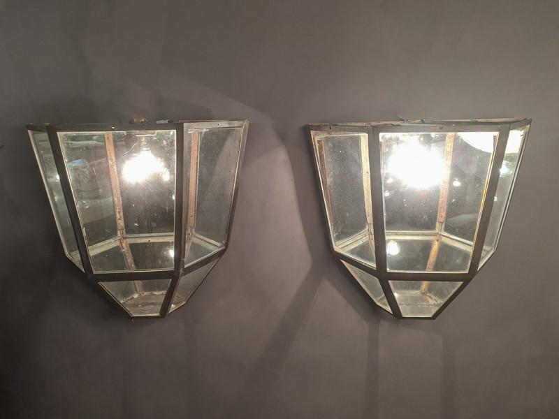 C1930 A Large Pair of metal Wall Lanterns-nick-jones-untitled-136-main-637467493798966265.jpg