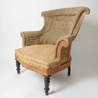 Antique French Napoleon chair