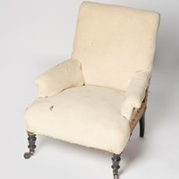 Antique French Napoleon III child's chair