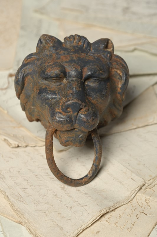 19th Century cast iron tethering lion head ring-nikki-page-antiques-npoctb-25-main-637399225686593383.jpg
