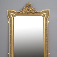 Art Nouveau Giltwood Wall Mirror