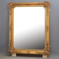 Superb 19th Century Gilded Wall Mirror