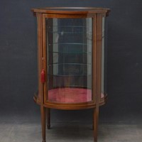 Large Edwardian Display Cabinet