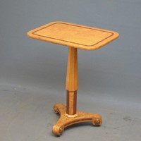 Biedermeier Bird's Eye Maple Occasional Table