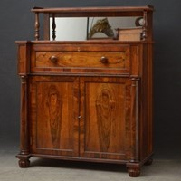 Superb Quality Regency Chiffonier with Secretaire