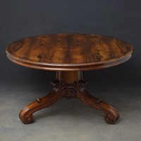 Superb William IV Rosewood Centre Table