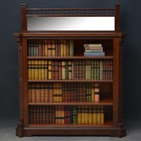 Aesthetic Movement Open Bookcase