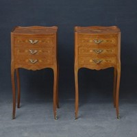 Attractive Pair of Bedside Cabinets Chests