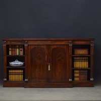 William IV Rosewood Bookcase