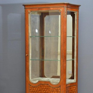 Antique French Display Cabinet