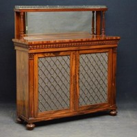 Exceptional William IV Coromandel Chiffonier