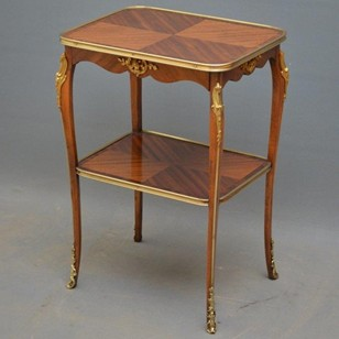 An Attractive Mahogany and Rosewood Table