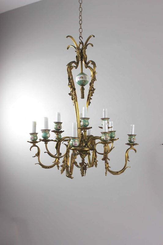Brass and ceramic two tier antique chandelier-norfolk-decorative-antiques-img-4192-main-637461477255269950.jpg