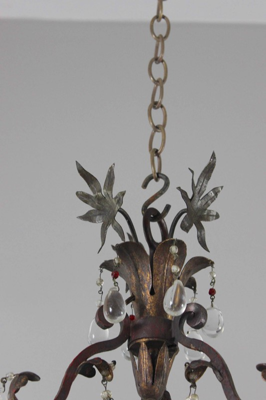 Italian polychrome and beaded antique chandelier-norfolk-decorative-antiques-img-4205-main-637461475363871981.jpg