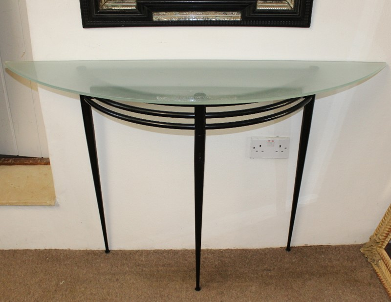 Vintage Pascal Morgue (1943-2014) lunar console table-on-reflection-mirrors-4793-three-quarter-view-main-637288651689386341.JPG