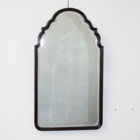 Elegant, Vintage, portrait wood framed mirror