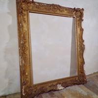 18th Century Large Rocco Picture Frame
