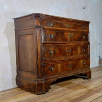 A Large 17th Century North Italian Walnut Commode