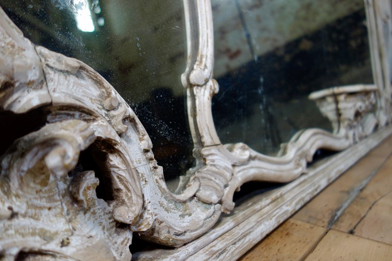 19th c Large French Overmantal Painted Wall Mirror-pappilon-fullsizeoutput-2841-main-636972244734915692.jpeg