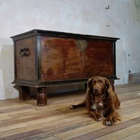 A Large 19th Century Indo Dutch Chest