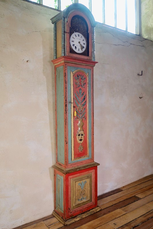 18th Colourful Painted Portuguese Longcase Clock -pappilon-fullsizeoutput-2bc9-main-637005340169714825.jpeg