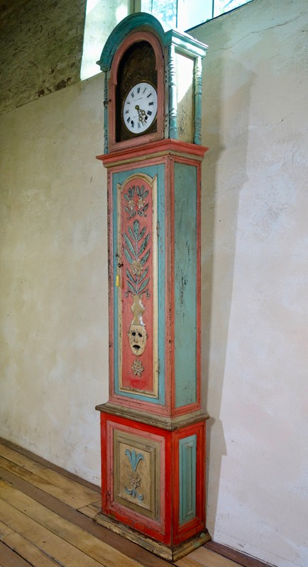 18th Colourful Painted Portuguese Longcase Clock -pappilon-fullsizeoutput-2bd2-main-637005340310026380.jpeg