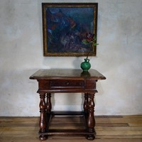 18th Century French Provincial Walnut Centre Table