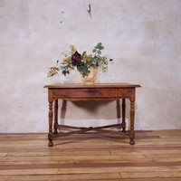 A French 19th Century Chestnut Side Table