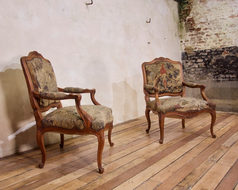 Pair Of 18th C Louis XV Fauteuils Tapestry Chairs-pappilon-fullsizeoutput-4379-main-637459848332444756.jpeg