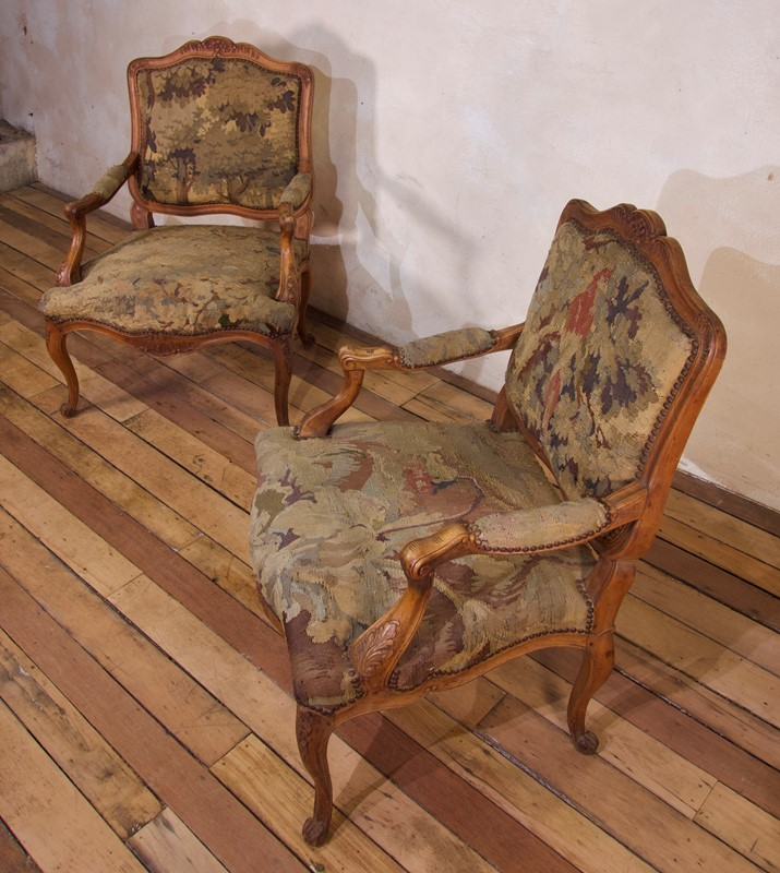 Pair Of 18th C Louis XV Fauteuils Tapestry Chairs-pappilon-fullsizeoutput-4394-main-637459848701037728.jpeg