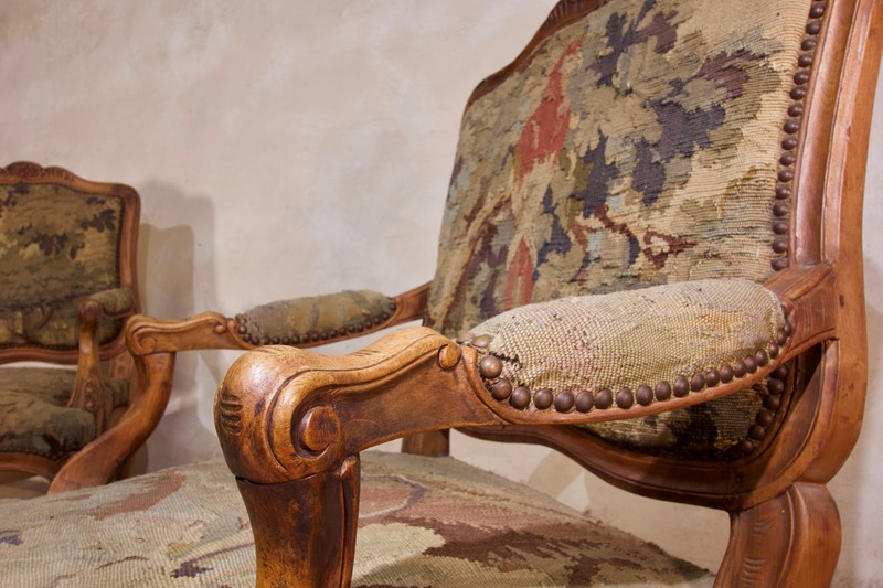 Pair Of 18th C Louis XV Fauteuils Tapestry Chairs-pappilon-fullsizeoutput-4396-main-637459848818223381.jpeg